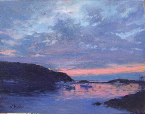 twilight on manana 11x14<span class=